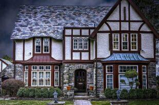 красивый дом, строительство дома