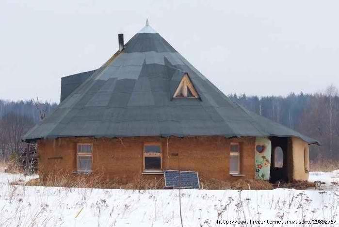 Саманный дом своими руками от и до 987
