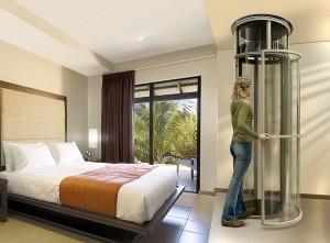 коттеджный лифт в частном доме