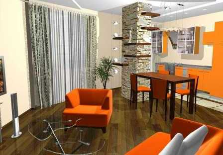 Ремонт 1-комнатной квартиры 46,8 квм по адресу: Москва