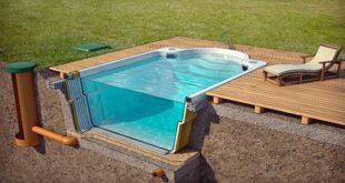 Этапы строительства бассейна