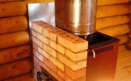 печь для каркасной бани