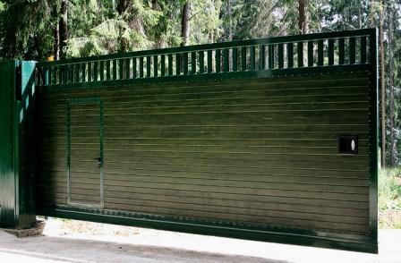 конструкции ворот