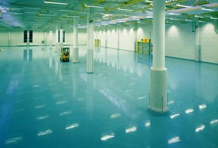 бетонные промышленные полы