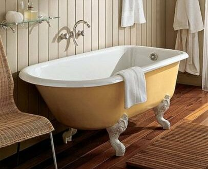 Как отбелить ванну, потерявшую свой первозданный лоск