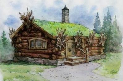 как построить баню из бревна