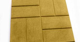 укладка желтой плитки