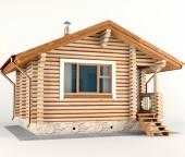 Строим уютную баню без посторонней помощи