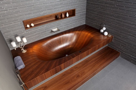 экостиль в ванной