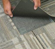 Особенности и достоинства ковровой плитки