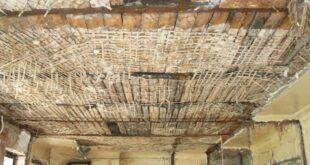 ремонт старого потолка своими руками