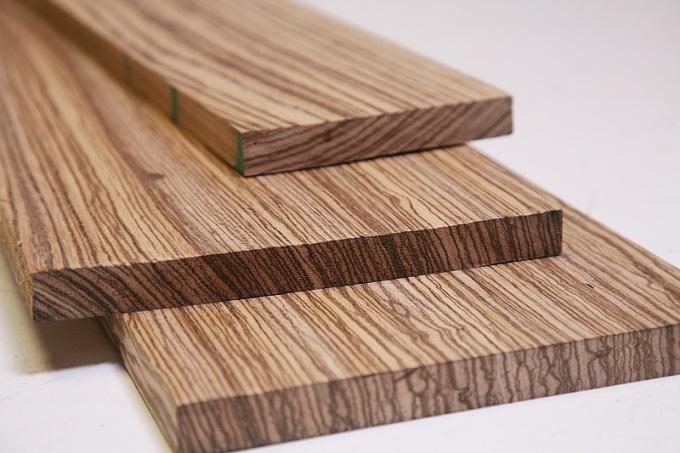 зебрано, ценные породы древесины