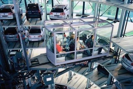 автоматизированная система парковок