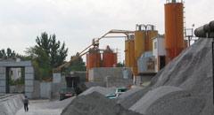 бетонный раствор, строительные растворы